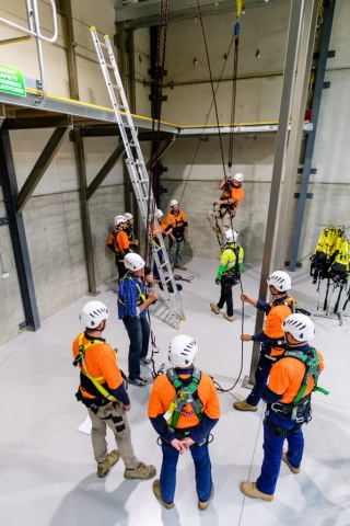 ISH24 Working at heights training